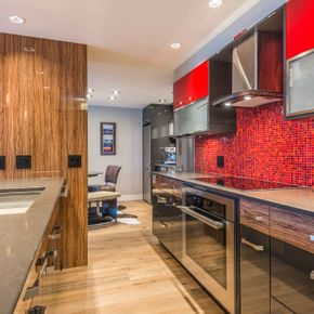 Custom Kitchen Cabinets 26