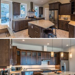 Custom Kitchen Cabinets 12