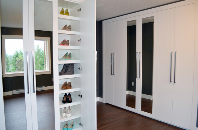 Closet spaces
