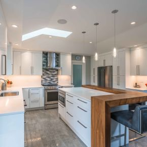 Custom Kitchen Cabinets 1